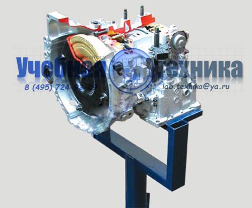 Автоматическая коробка переключения передач переднеприводного автомобиля