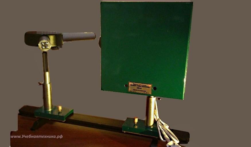 Установка для изучения, спектра, атома, водорода, ФПК, ФПК-09
